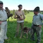 Tierfreunde im Gespräch